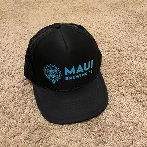 Maui brewing trucker hat